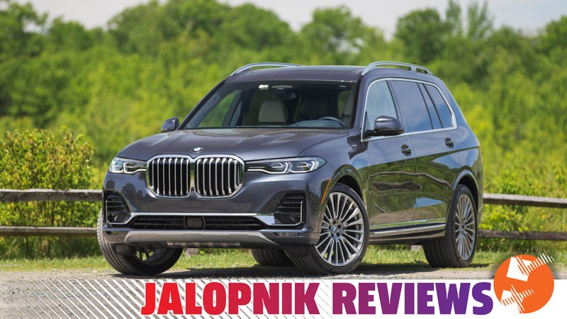 The 2019 Bmw X7 Is Huge But So Great At High Speed Cruising