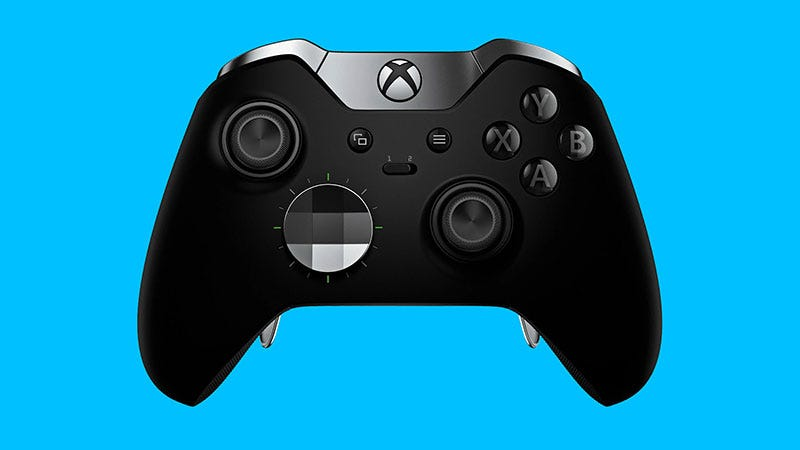 Xbox Elite控制器是高级的,我尊重这一点