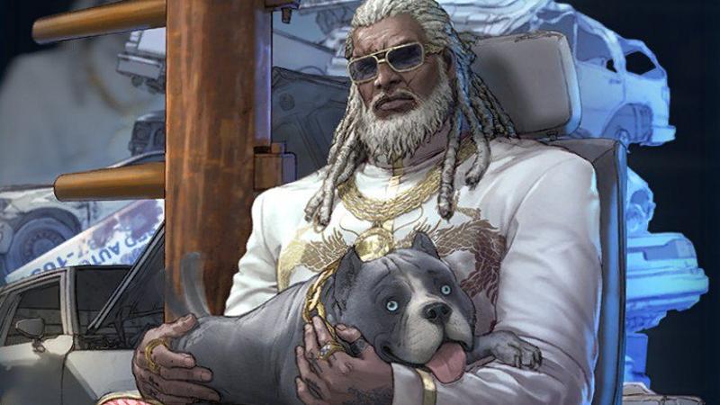 新铁拳7号人物的狗伙伴很好很纯洁