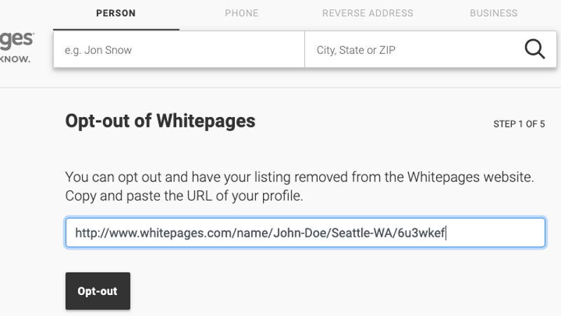 How To Opt Out Of The Most Popular People Search Sites