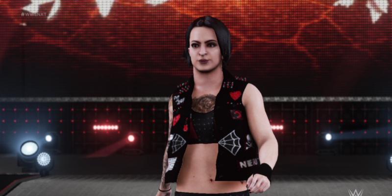 WWE 2K18在开关上看起来很粗糙