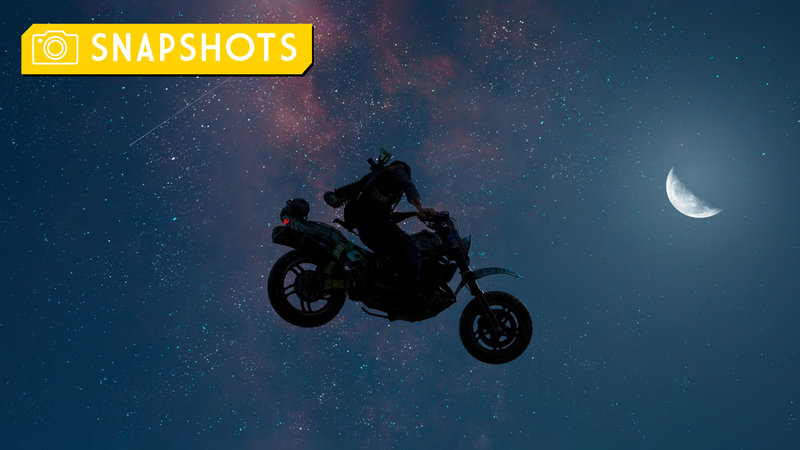 飞得高一点,太空摩托车手