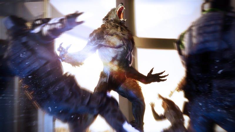 新狼人:启示录动作游戏看起来并不太寒酸