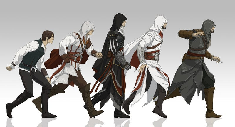 Assassin S Creed Is Getting An Anime Series