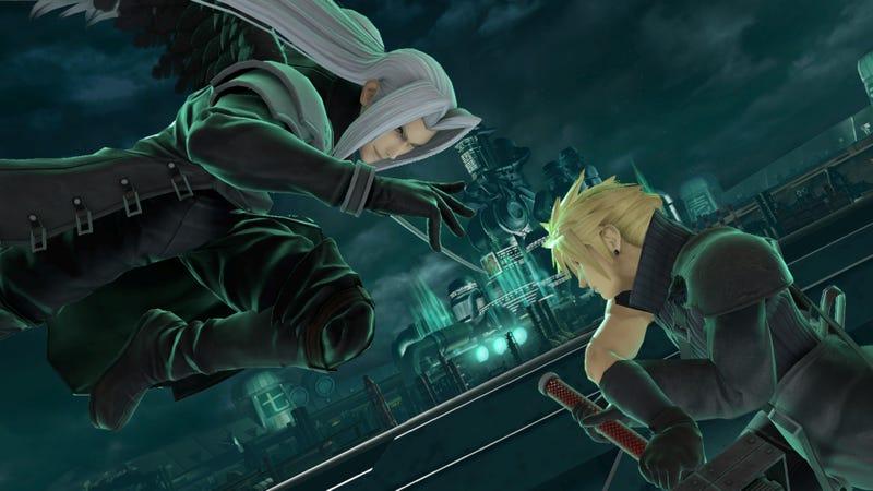 Sephiroth Boss之战是我最近在Smash Bros.Ultimate玩过的最有趣的游戏