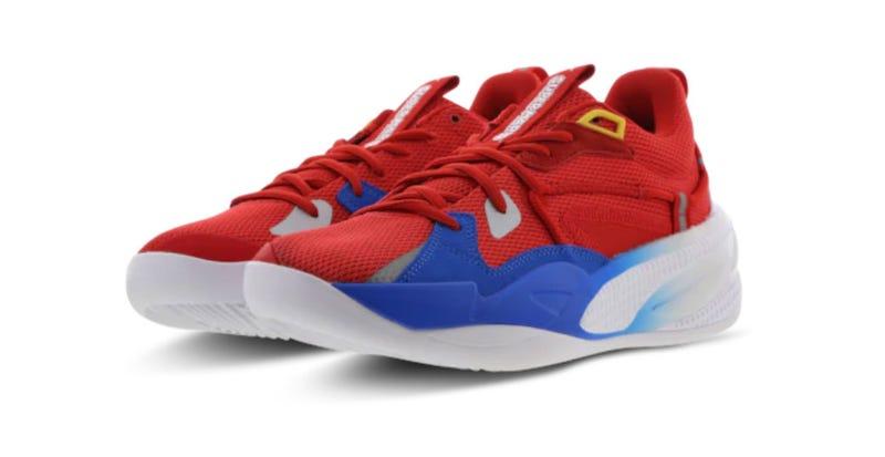 任天堂x彪马有一些超级马里奥兄弟的运动鞋来了