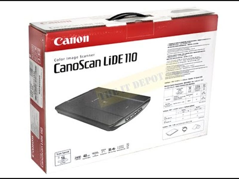canoscan lide 110 scanner software free download