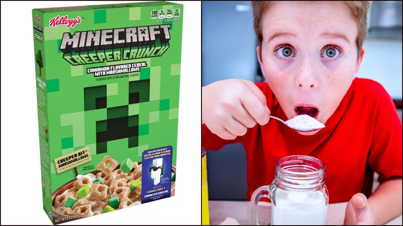 Brace Yourselves Parents Minecraft Cereal Now Exists