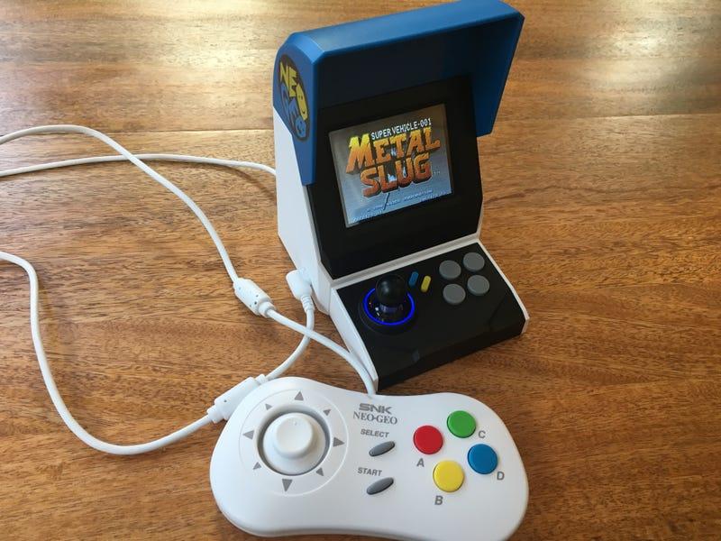 Neo Geo Mini很可爱,但不完美的怀旧之旅
