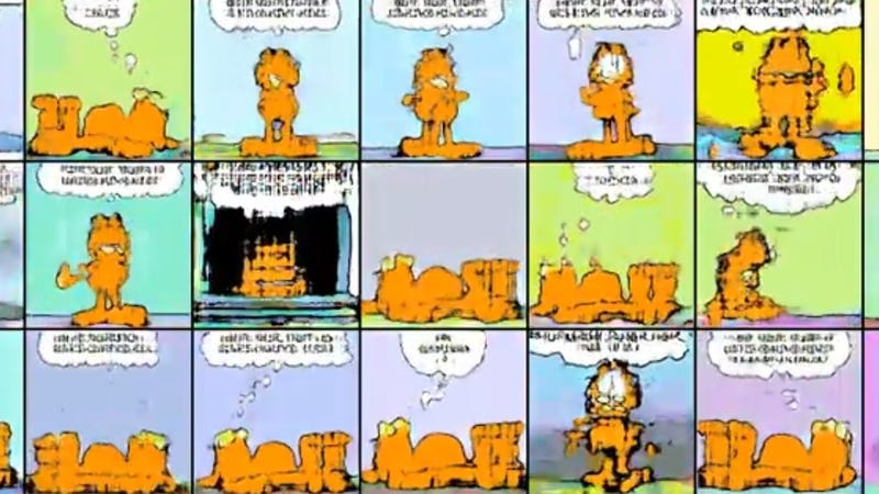 Garfield Shit Posting Evolves Into Exciting Disturbing New Form Thanks To Ai