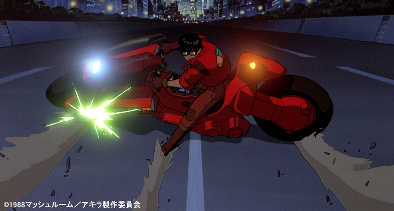 The Akira Motorcycle Skid A Celebration