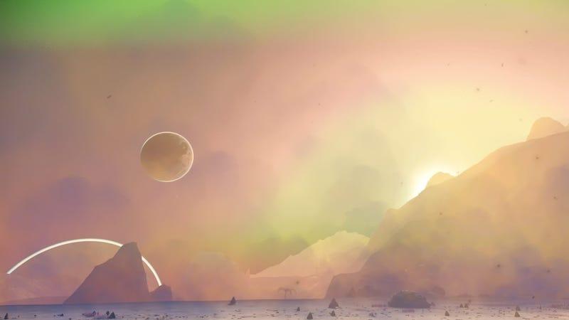 在银河系殖民的无人天空玩家现在必须找到一个新家