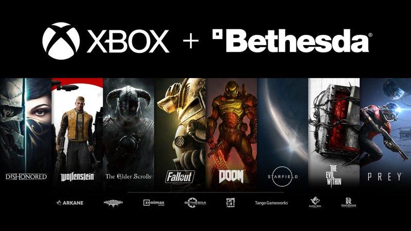 微软以75亿美元收购贝塞斯达母公司Zenimax Media