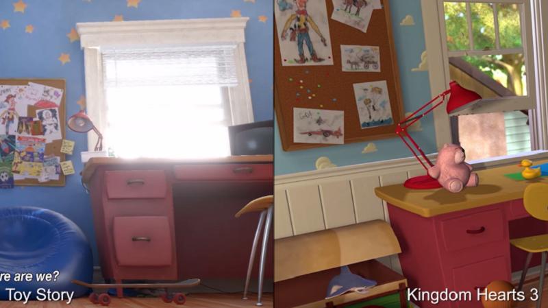 视频对比展示了《红桃王国III》的《玩具总动员》是如何达到原版电影的水准的