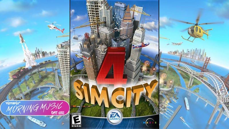 SimCity 4(PC,2003)视频游戏音乐评论