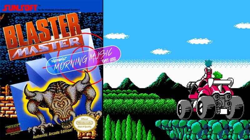 Blaster Master(NES,1988)视频游戏音乐评论