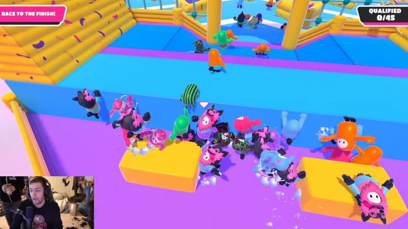 一个未发行的独立游戏接管了Twitch,但它不是凭空出现的