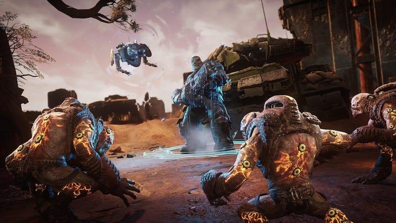 Xbox上的Gears战术与PC上的Gears战术非常相似,后者是规则