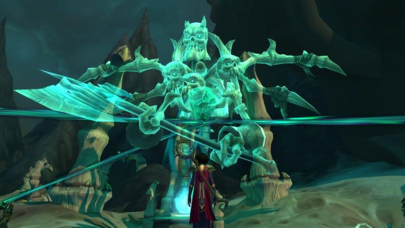 在一个令人失望的开始之后,魔兽世界的故事在Maldraxxus获得了巨大的成功
