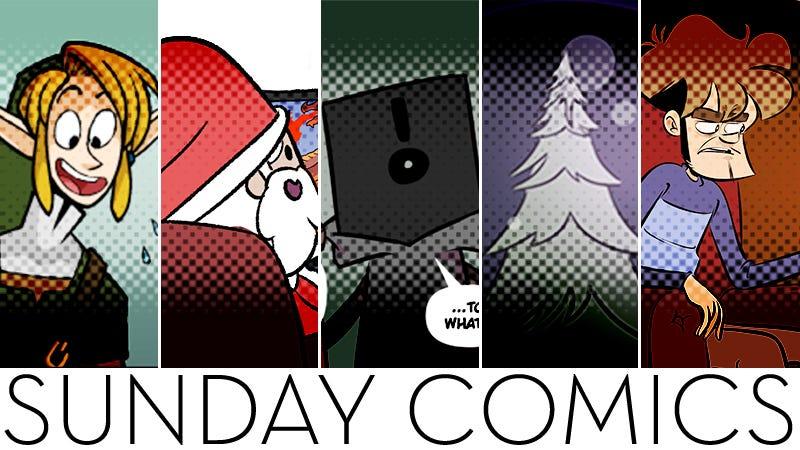 星期天漫画:礼物