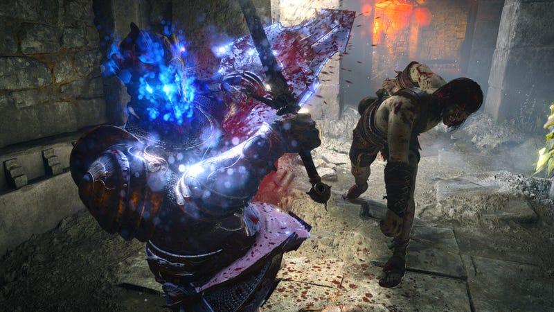 在PS5恶魔的灵魂里,拳击感觉很棒