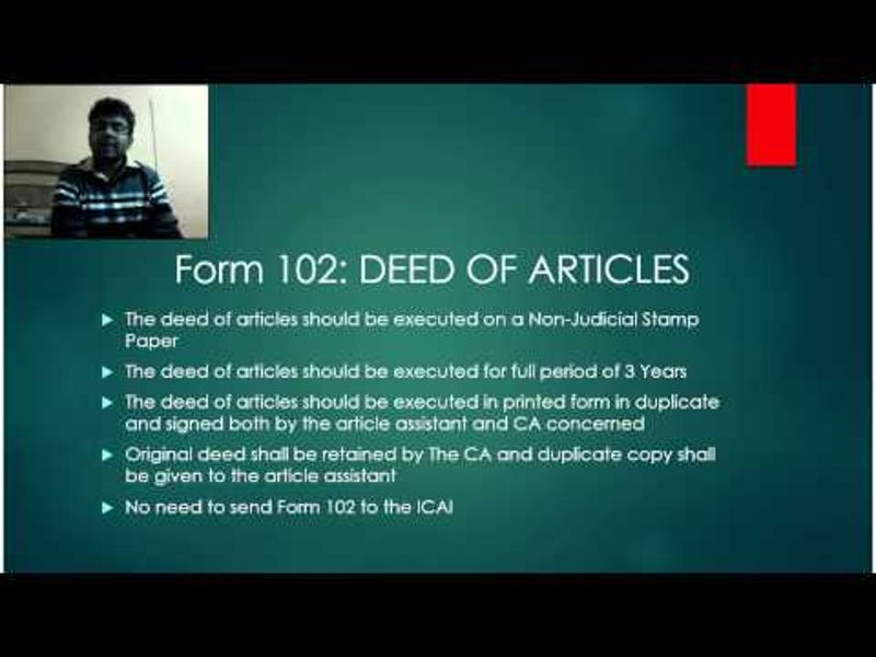 Form 112 Icai Download Pdf