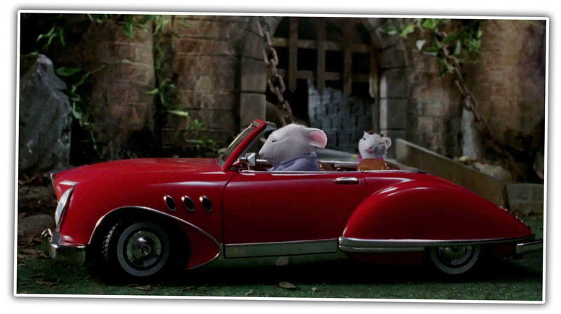 Let S Finally Get To The Bottom Of This Does Stuart Little Drive A Toy Car Or A Miniature Actual Car