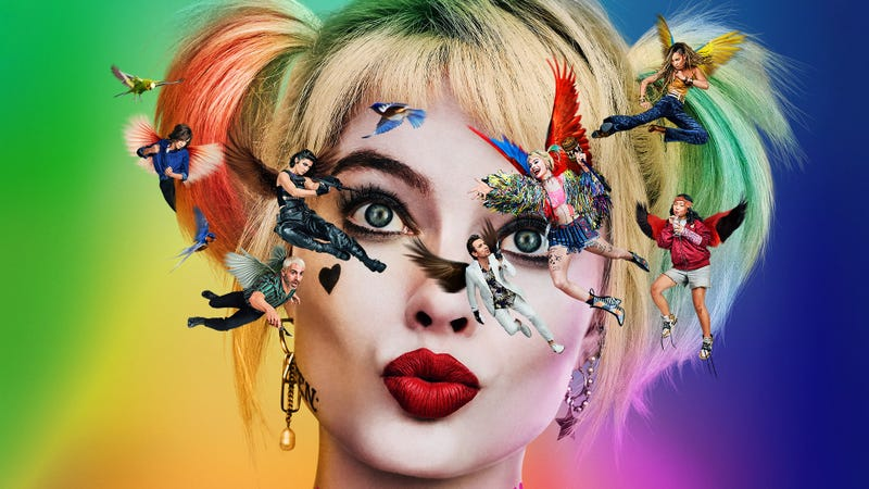 New Birds Of Prey Poster Shows Off Harley S Twisted Perspective