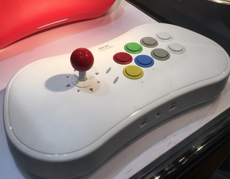 SNK展示了Neo Geo Arcade Stick的20款游戏