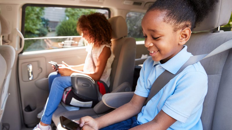 A Booster Or Sit In The Front Seat, What Height Does A Child Need To Be Stop Using Car Seat