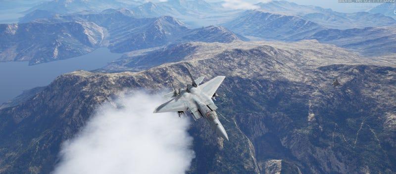 计划翼手,一个独立的喷气机战斗游戏的PC