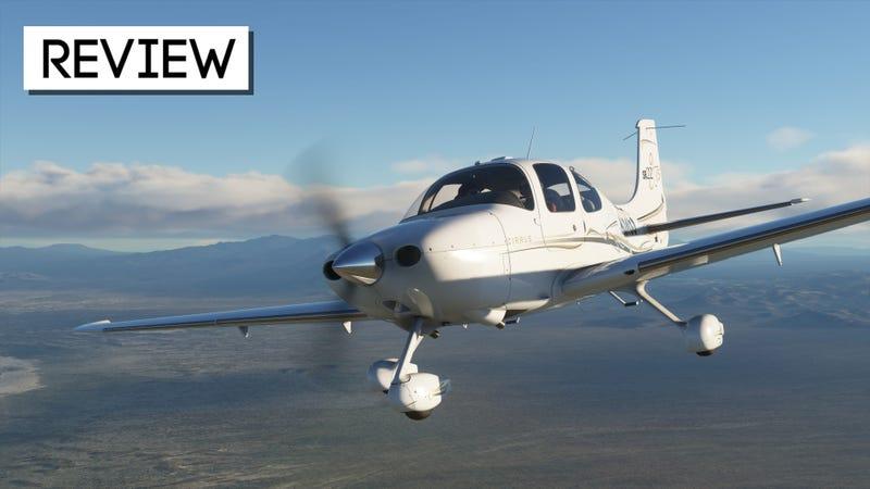 微软飞行模拟器:Kotaku评论