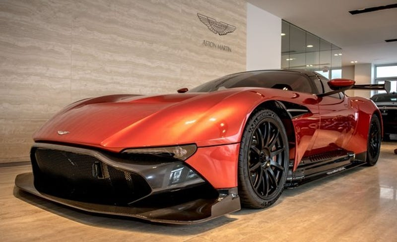 The First Aston Martin Vulcan In America Is Still For Sale At Just 3 4 Million