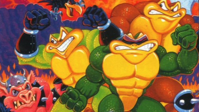 Rare Made A Battletoads Arcade For Game Boy That Never Came Out