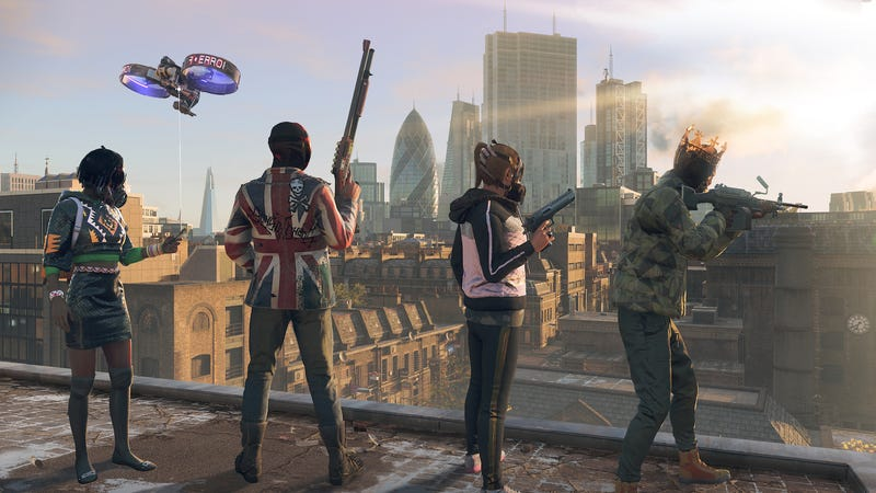 Ubisoft S Watch Dogs Legion Is A Radical Rework With Something To Say
