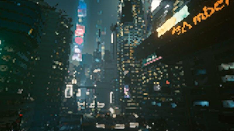 赛博朋克2077在超低设置看起来像像素地狱