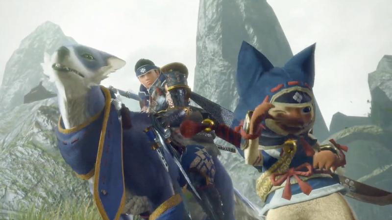 任天堂新推出的两款怪物猎人游戏