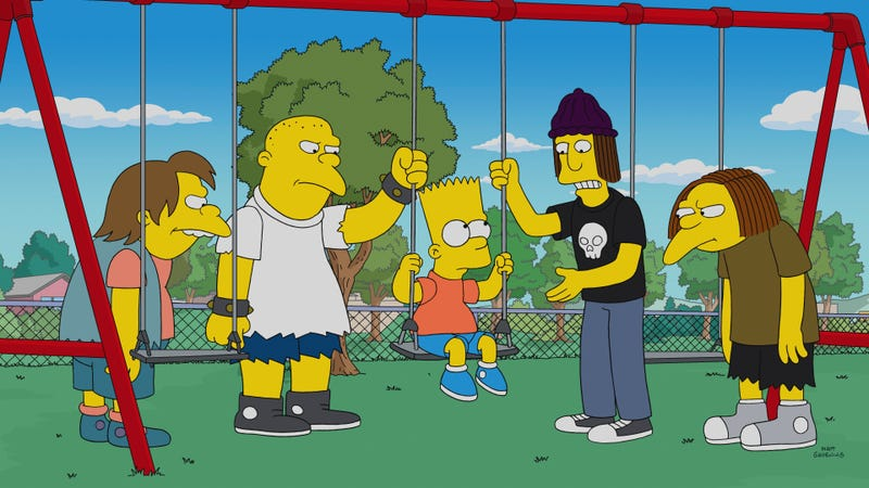 The Simpsons 30th Season Takes On Faith Based Films And Assures Us Bart S Not Dead