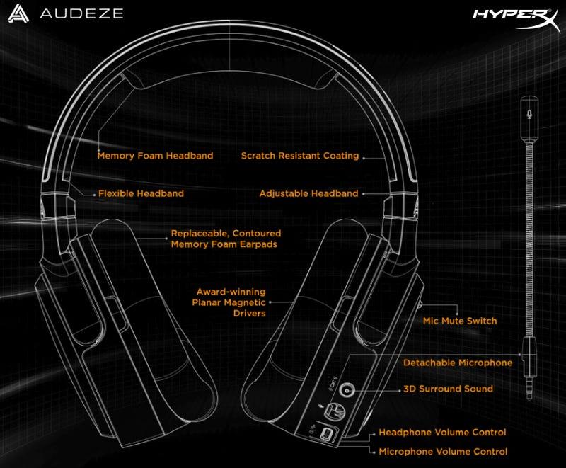 HyperX云轨道的头部跟踪耳机:Kotaku评论