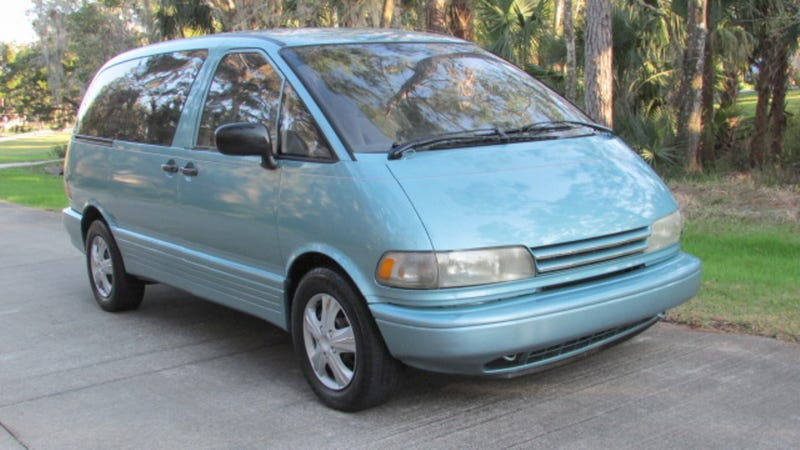 Could This 1991 Toyota Previa People Mover Move You To Pay 2 999 For It