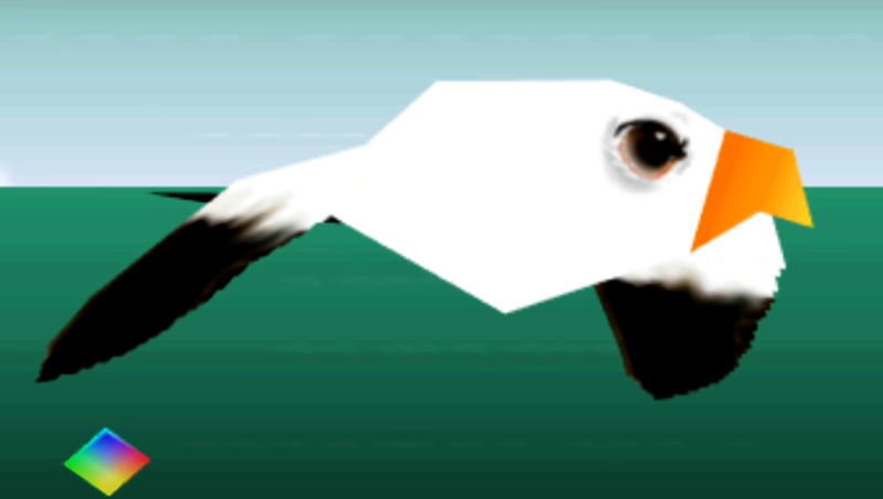 电子游戏充满了奇怪的鸟