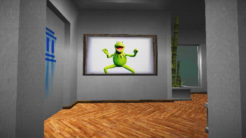 一个奇怪的游戏,让你创造一个数字艺术画廊的任何东西