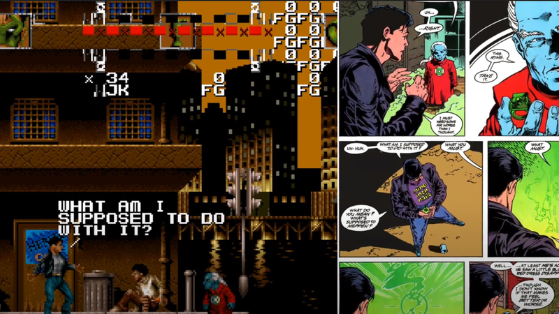 找到未发布的绿灯侠SNES游戏