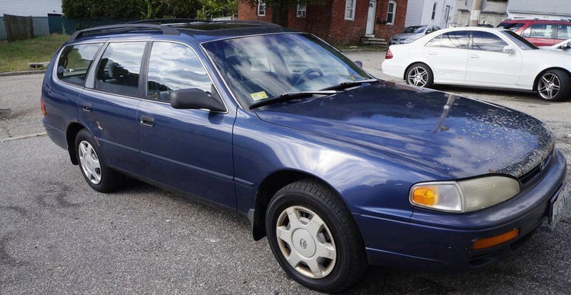 at 750 would you add this 1996 toyota camry le wagon to your life 1996 toyota camry le wagon