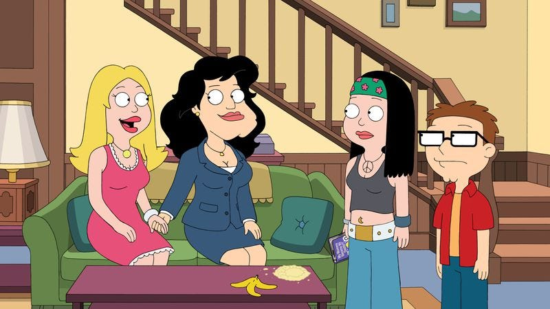 American Dad Stan Goes On The Pill