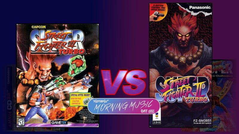 超级街头斗士II Turbo(3DO/PC)怪异版音乐枪战