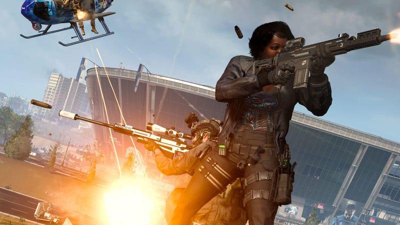 《使命召唤》的战区挑战者暗示地图有变化