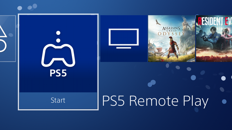 PS5远程播放在PS4上的工作原理