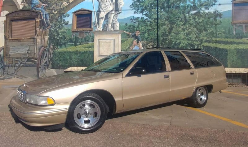 at 7 000 could this 1995 chevy caprice wagon mean your ship has come in 1995 chevy caprice wagon mean