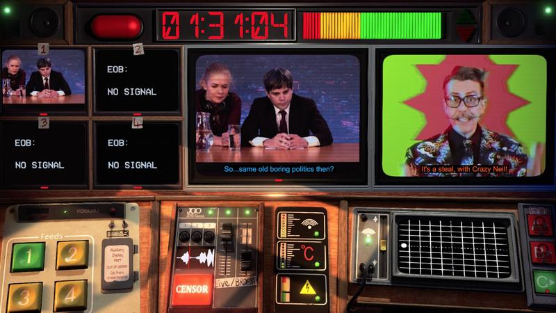 不是为了广播是一个关于净化晚间新闻的游戏